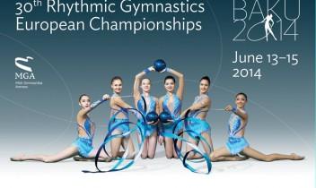 Nicoleta Dulgheru la Campionatul European de Gimnastică Ritmică