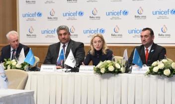 UNICEF și Baku 2015 lansează parteneriat către Jocurile Europene în a valorifica puterea sportului pentru toți copii