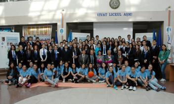 Lecție Olimpică la liceul Academiei de Științe a Moldovei