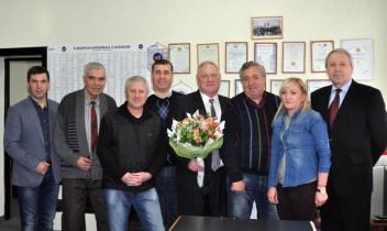 Nicolae Piatac, felicitat de colegi și antrenori