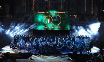 100 ani ai Comitetului Național Olimpic din Italia