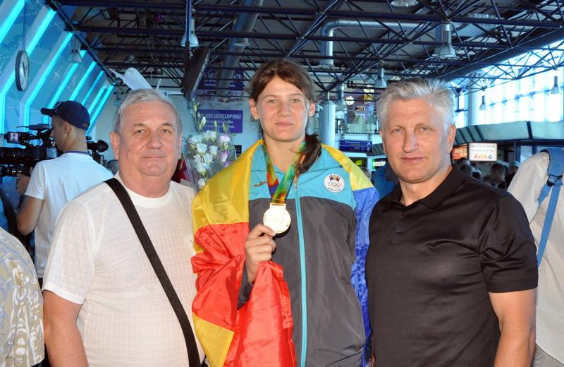 Sergiu Oslobanu a devenit campion mondial la sambo, seniori