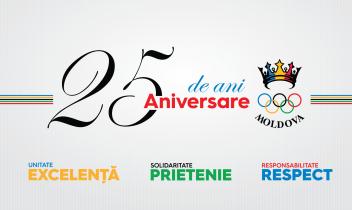 Aniversarea de 25 de ani a Comitetului Național Olimpic și Sportiv din Republica Moldova