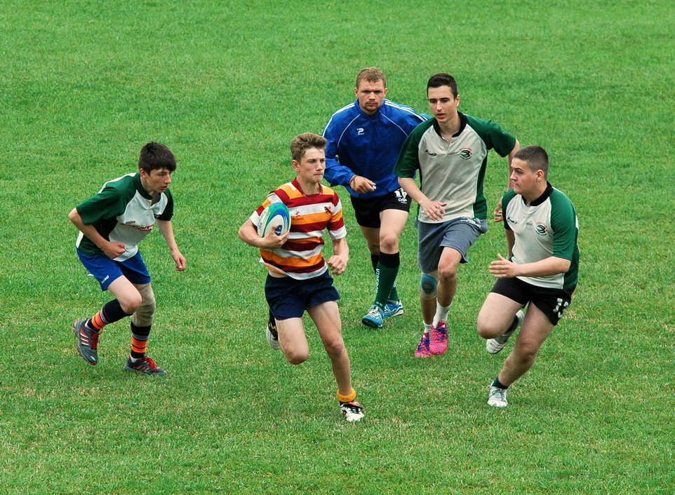 Festival de rugby pentru copii