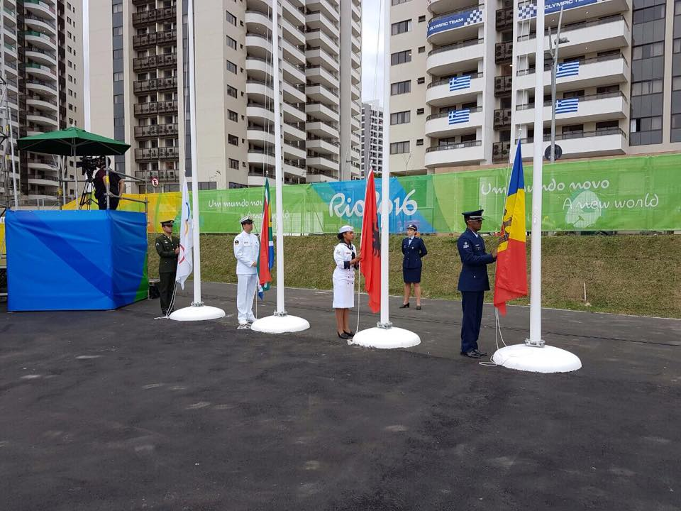 La Rio de Janeiro a fost arborat Drapelul Republicii Moldova