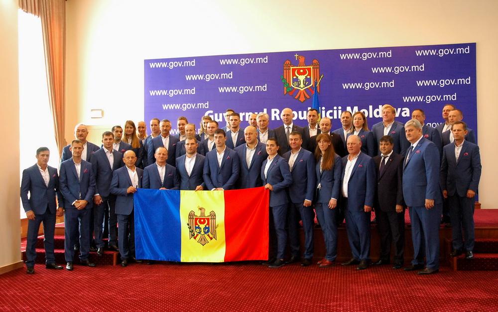 Lotul olimpic s-a întâlnit astăzi cu Prim-ministrul Pavel Filip