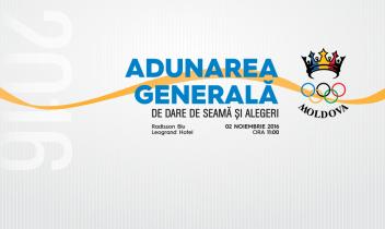 Regulament de organizare și desfășurare a Adunării Generale CNOS