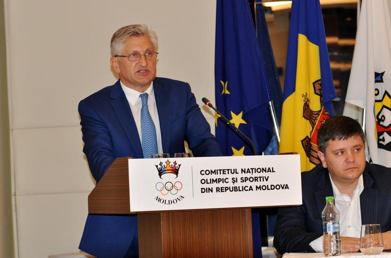Nicolae Juravschi, dublu campion olimpic, a fost reales în funcția de președinte CNOS