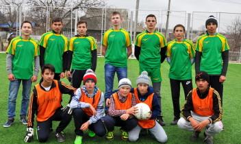 O nouă construcție sportivă la Talmaza