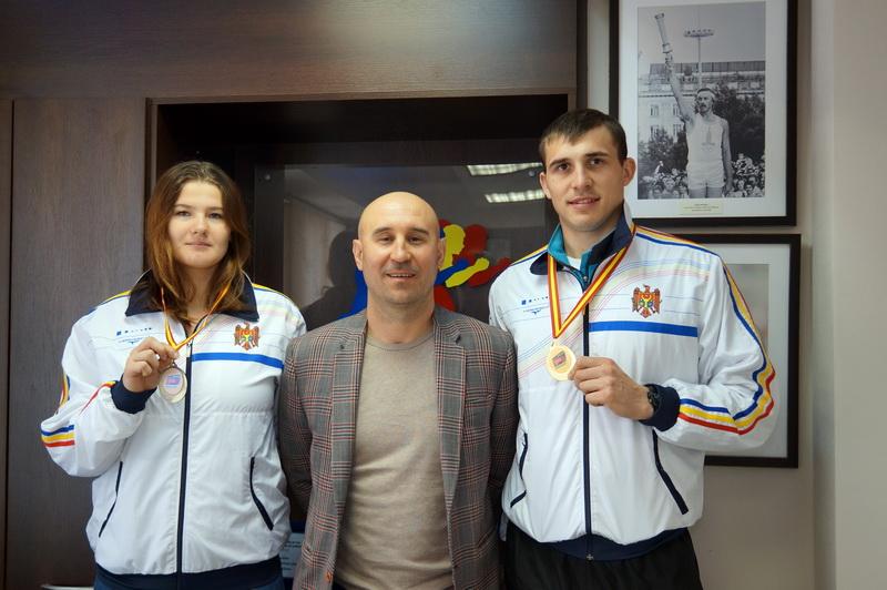 Atleții moldoveni pe podiumul European