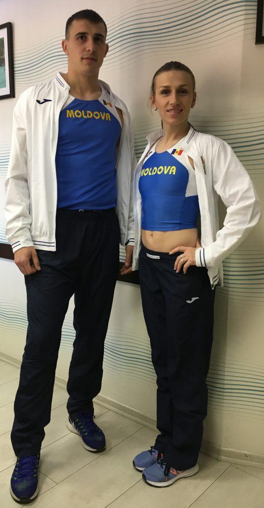 Echipament sportiv nou pentru membrii lotului național de Atletism