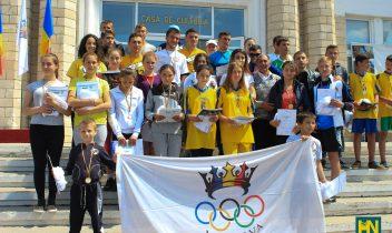 Olympic Day organizată de Agenția Teritorială Olimpică Hâncești