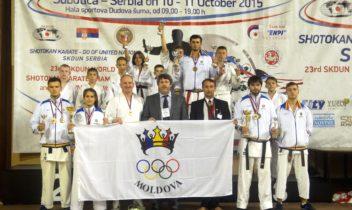 Karate Shotokan la o nouă încercare europeană