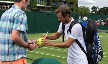 Radu Albot a fost învins în turul doi la Wimbledon