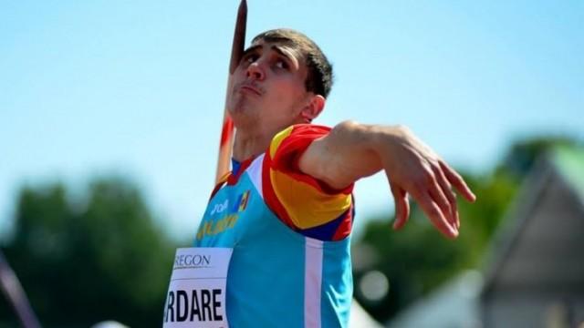 Andrian Mardare s-a calificat în finală la Europenele U-23 din Polonia