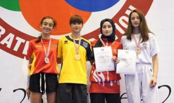 Luptătoarea Polina Gurenco a devenit campioană mondială printre tineret