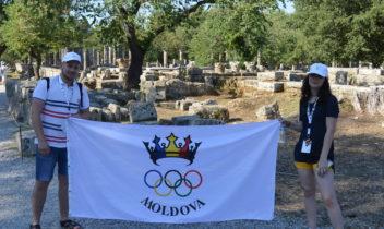 VOLUNTARII MOLDOVENI LA ACADEMIA INTERNAȚIONALĂ OLIMPICĂ