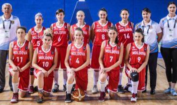 Locul 23 pentru naționala feminină de baschet