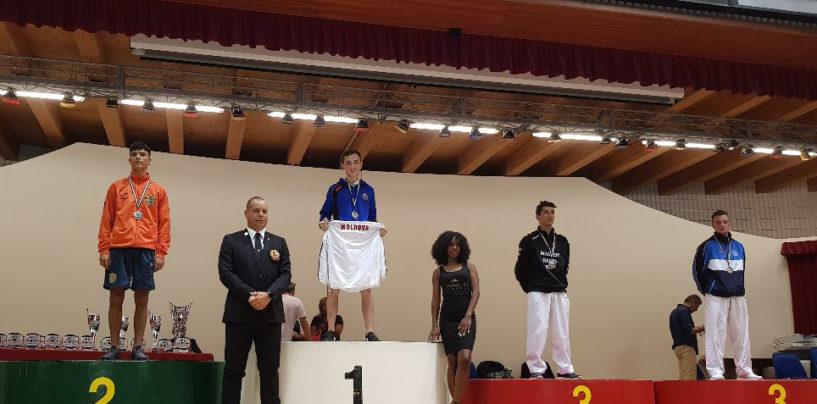 Iurie Grădinar a cucerit aurul la Lignano Karate Open
