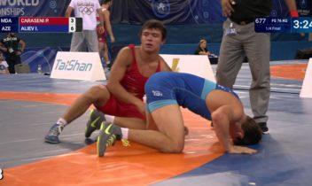 Luptătorul Piotr Caraseni a cucerit bronzul la Mondialul de cadeți