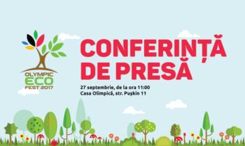 Conferință de presă – Olympic EcoFest 2017!