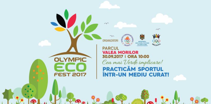 Comunicat de presă – Olympic ECOFest 2017 | 30 septembrie, ora 10:00, Parcul Valea Morilor