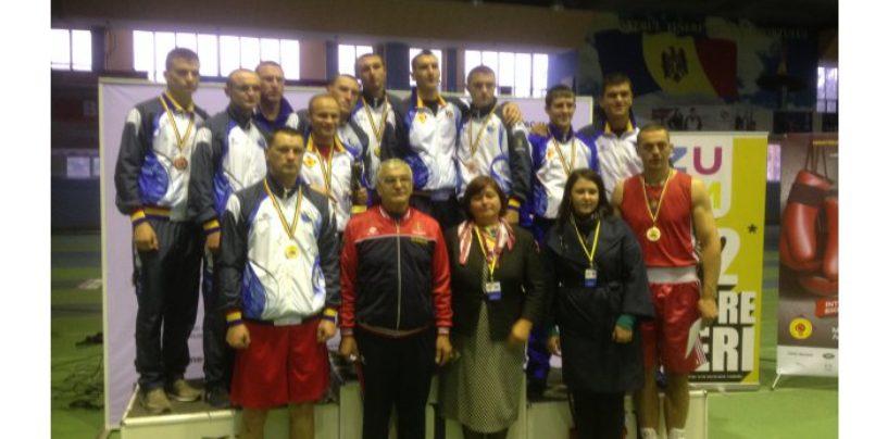 Boxerii din Grimăncăuți au câștigat 6 titluri la campionatul național