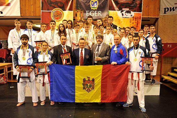 Vitalie Spînu a devenit dublu campion mondial la karate shotokan