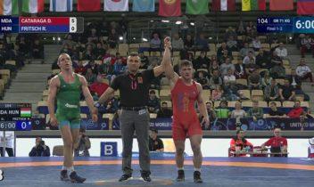 Luptătorul Daniel Cataraga a devenit campion mondial U-23