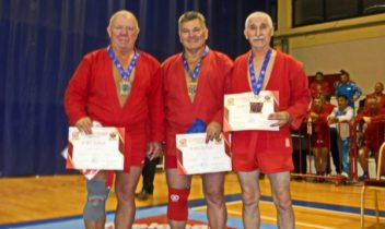 Medalii pentru Curu și Diulgher la Mondialul de sambo printre veterani