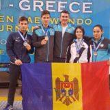 Patru medalii la turneul G-1 din Grecia la taekwondo