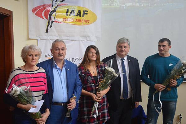 Andrian Mardare și Alexandra Emilianov au fost aleși atleții anului