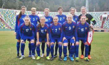 Naționala feminină a urcat în clasamentul FIFA