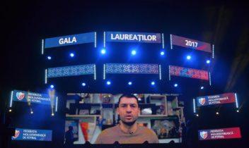 Gațcan a fost ales pentru a 4-a oară cel mai bun fotbalist moldovean