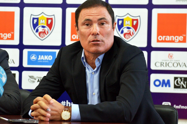 Alexandru Spiridon este noul antrenor al naționalei de fotbal a Moldovei