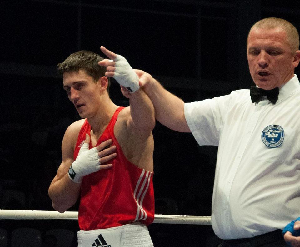 Boxerul Dumitru Galagoț a urcat pe podium la turneul din Debrecen