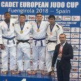 Alin Bagrin a cucerit bronzul la Cupa Europei printre cadeți