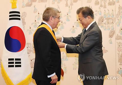 Președintele CIO a primit cea mai înaltă distincție sportivă de la Guvernul din Coreea de Sud