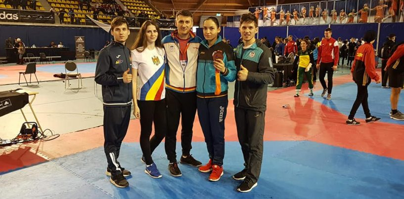 Ana Ciuchitu și Aaron Cook, medaliați la Openul Olandei