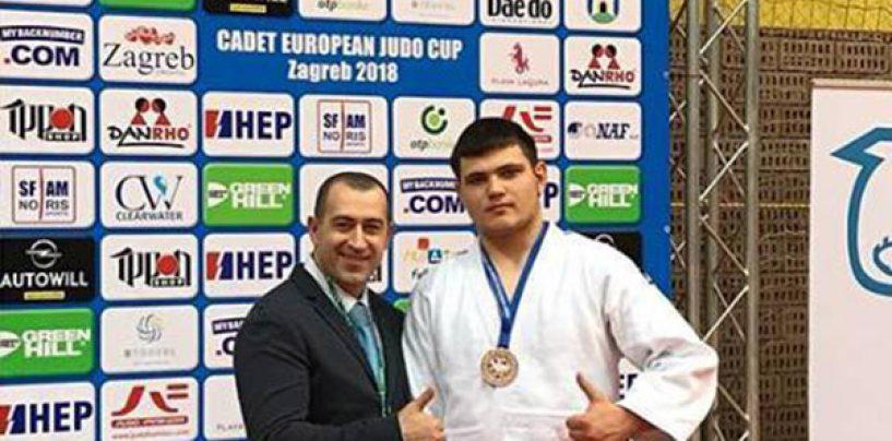 Bagrin a urcat pe podium la Cupa Europei
