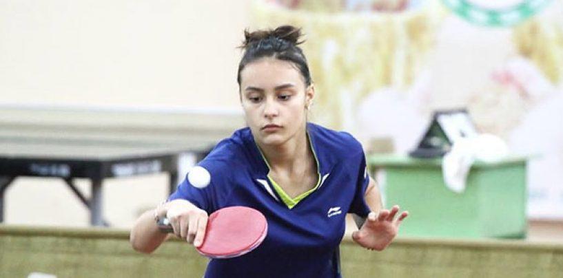 Alexandra Chiriacova de 13 ani a devenit campioană la tenis de masă